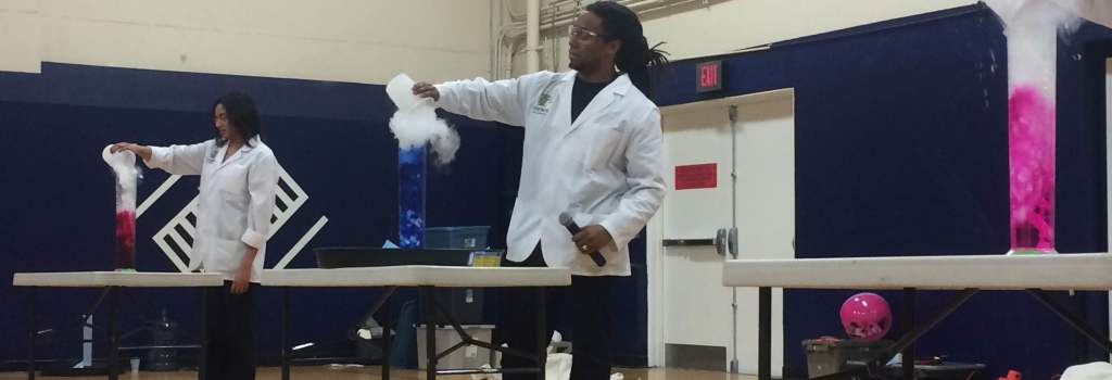 Science Theater at Boys and Girls Club