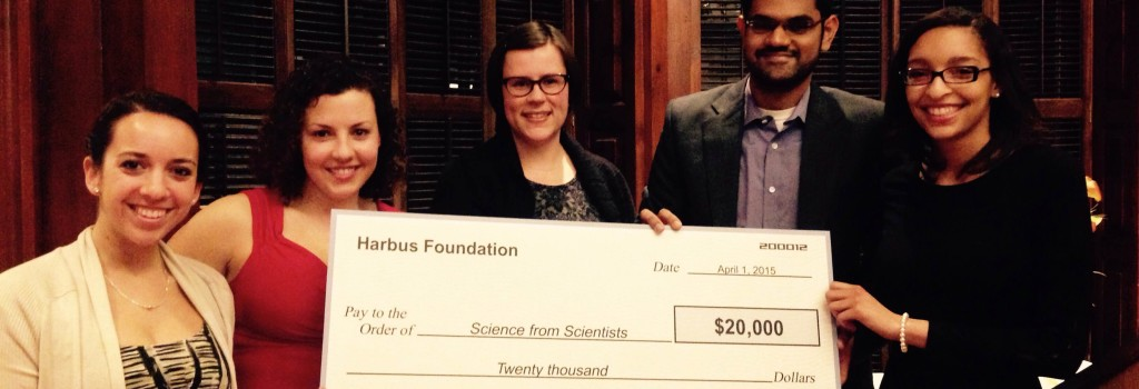 Harbus Foundation Awards SfS $20,000 Grant