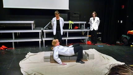 Science Theater Shows Performed at Wellesley STEM Expo