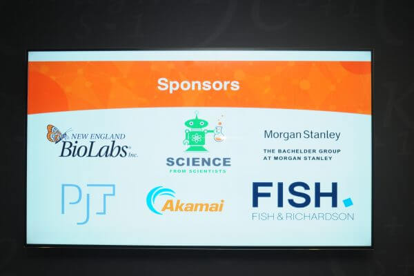 Picture of Gala sponsors.