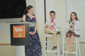 Two students and a teacher talk about their experiences at Gala.