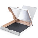 Pizza box solar oven.