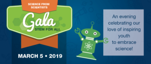 Stem for All Gala logo.