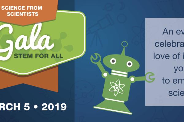Stem for All Gala logo.
