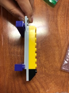 A Lego creation is shown.