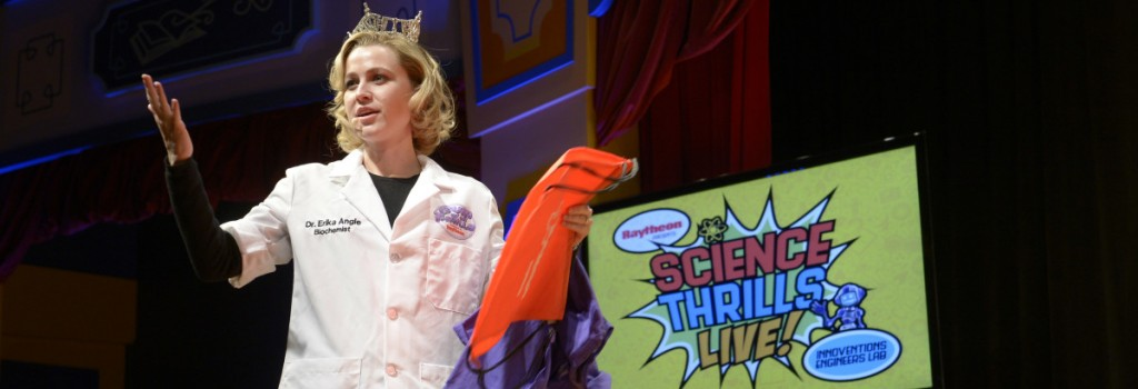 "Scientists Present ""Science Thrills Live"" at Epcot"