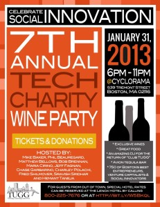 New England Tech Charity Wine Party