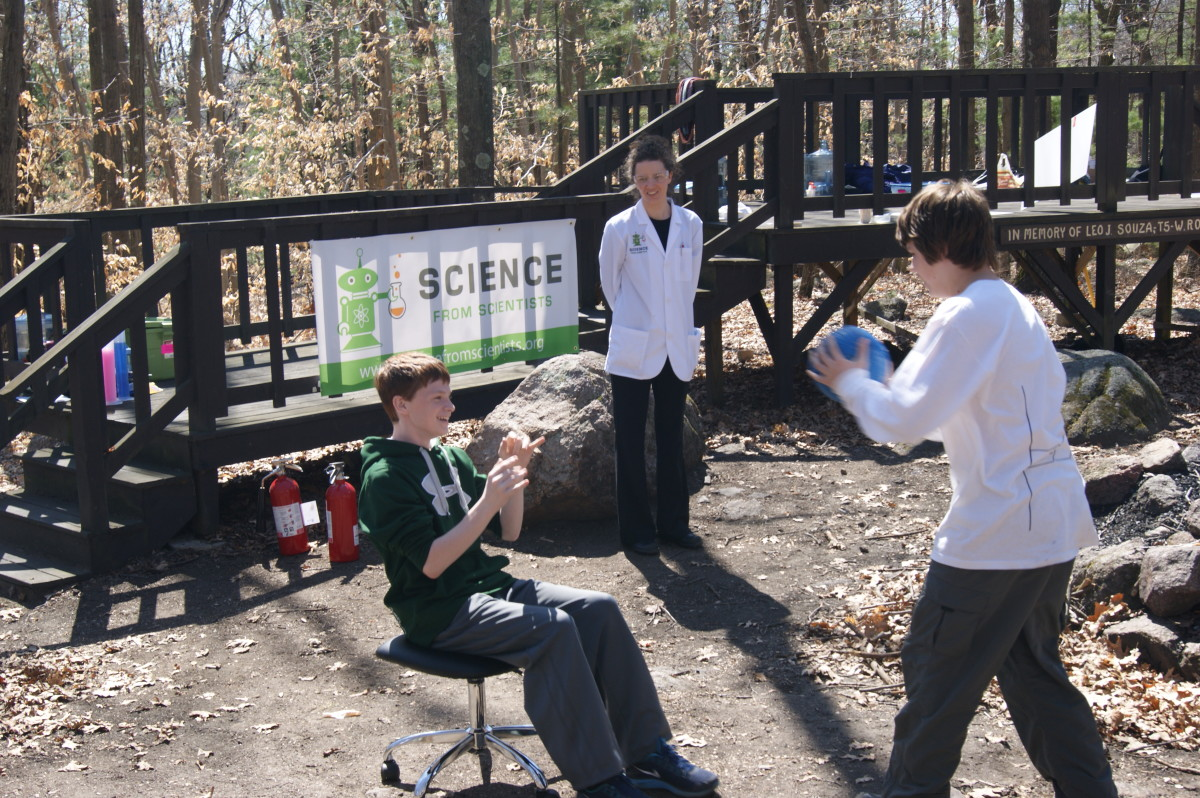 Science Theatre! at Boy Scout STEM Camp